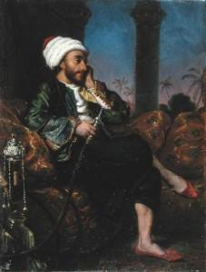 Hookah Smoking Egyptian